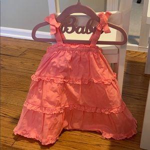 Coral Baby Gap Dress 12-18m